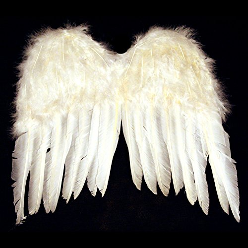 [US Toy Child Feather Angel Wings Costume] (Angel Wings For Halloween Costumes)