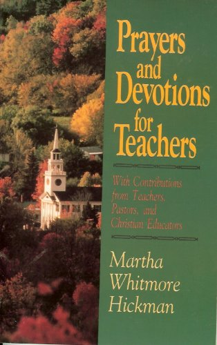 Prayers and Devotions for Teachers