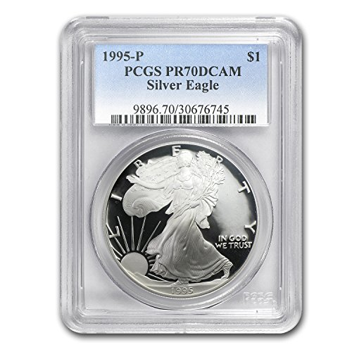 1995 P Proof Silver American Eagle PR-70 PCGS (Registry Set) PR-70