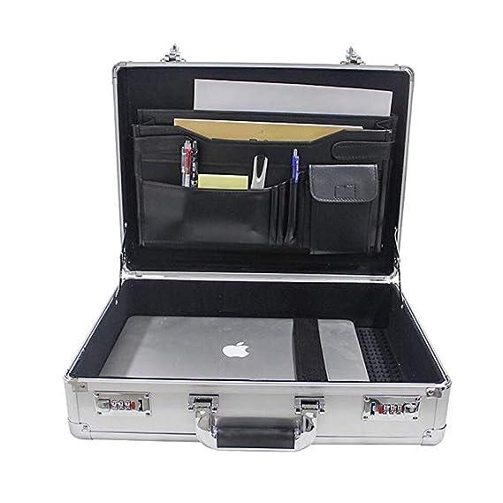 39b6371073 XHHWZB Swiss Attaché Case Case Mallette Ordinateur Portable rembourré Combo  Lock: Amazon.fr: Sports et Loisirs