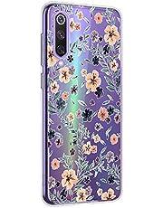 Oihxse Funda Xiaomi Redmi K20/K20 Pro/F2/F2 Pro, Ultra Delgado Transparente TPU Silicona Case Suave Claro Elegante Creativa Patrón Bumper Carcasa Anti-Arañazos Anti-Choque Protección Caso Cover (A14)