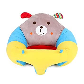 Baby Seat Sofa Plush Toy Cute Soft Stuffed Animal Kid Infant Sit Back Support