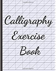 Calligraphy exercise Book: Blank Lined Handwriting Practice Paper for Adults & Kids 150 Pages of Calligraphy Writing Paper - Calligraphy workbook practice, Calligraphy Notebook & journal