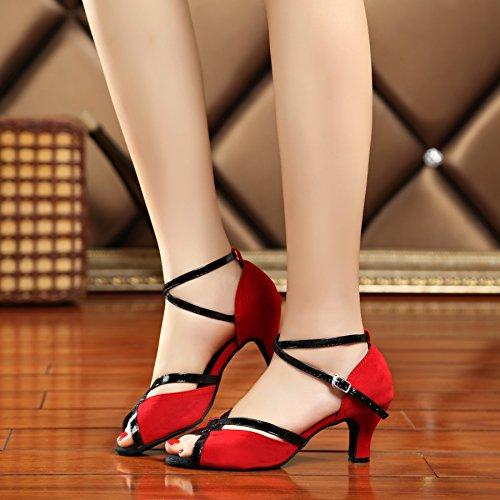 Minitoo Minitoo Tanzschuhe Minitoo Minitoo Rot Tanzschuhe Damen Damen Damen Rot Rot Rot Damen Tanzschuhe Minitoo Tanzschuhe gAwWxU