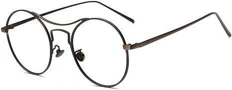 Miglior Retro Occhiali Da Vista Grande Rotondo Montatura Metallo unisex occhiali