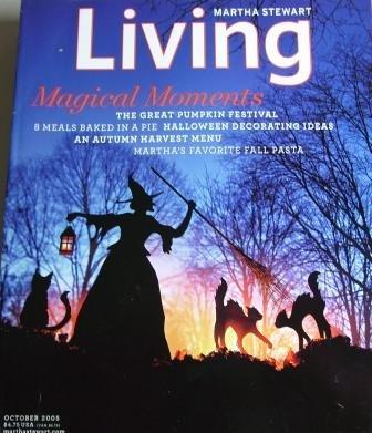 Martha Stewart Living October (Martha Stewart Living Halloween Issue)
