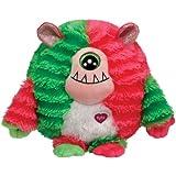 TY Monstaz Spike Monster - Monstruo de peluche, color rojo y verde - Peluche Monstaz - Spike (15 cm), Infantil