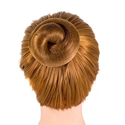 Deoot 20 Pcs Reusable Hair nets Invisible Elastic Edge Mesh for Women,Girls,Ballet Bun(Light Coffee)