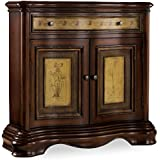 Hooker Furniture Two-Tone Shaped Hall Chest, Hand Painted two Tone