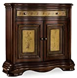 This beautiful hall chest uses our Vineyard color palette for a subtle European two-tone effect. The top is constructed with special cherry veneers with natural imperfections to create the look and hand of a solid cherry antique. It has one d...