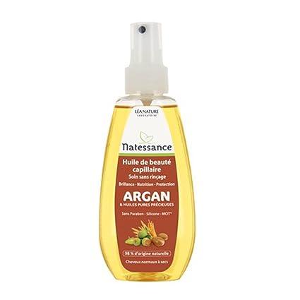 Natessance aceite de belleza capilar Argan