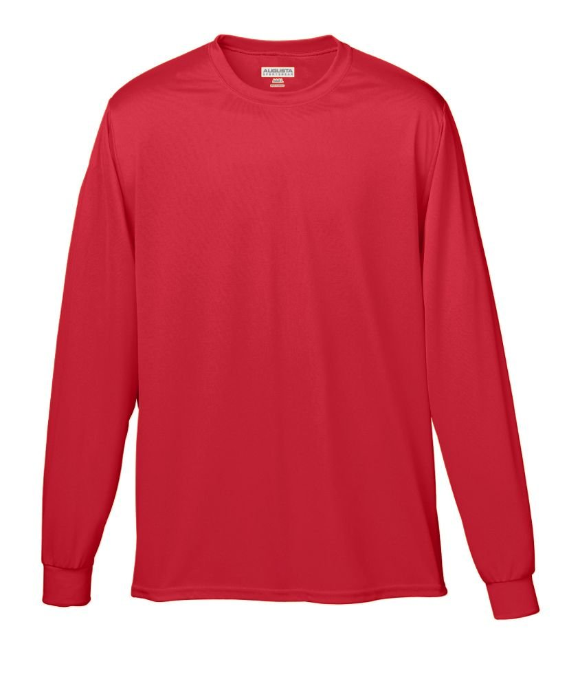 Amazon.com: Augusta Sportswear Wicking Long Sleeve T-Shirt: Clothing