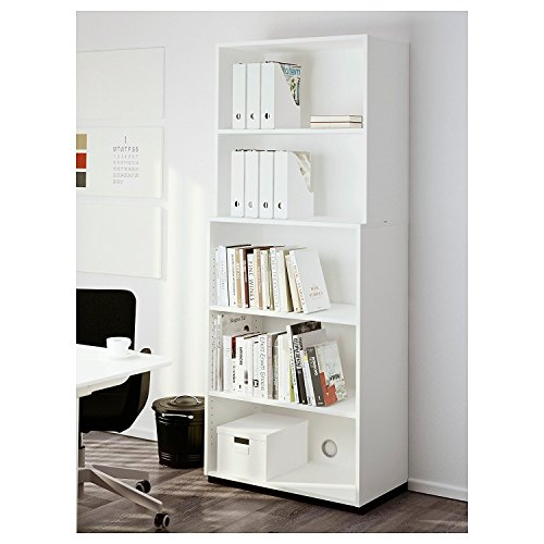 IKEA FLUNS Magazine File White Set Of 8 Free Shipping!: Amazon.es: Oficina y papelería