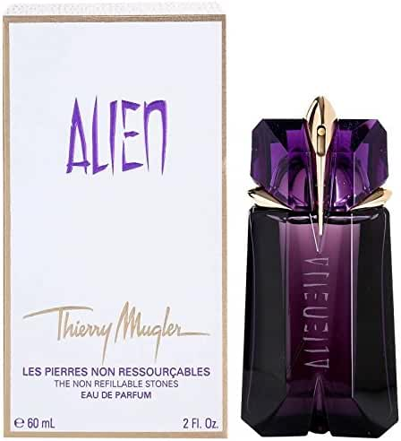 Thierry Mugler Alien Non Refillable Stones Eau De Parfum Spray for Women, 2 Ounce