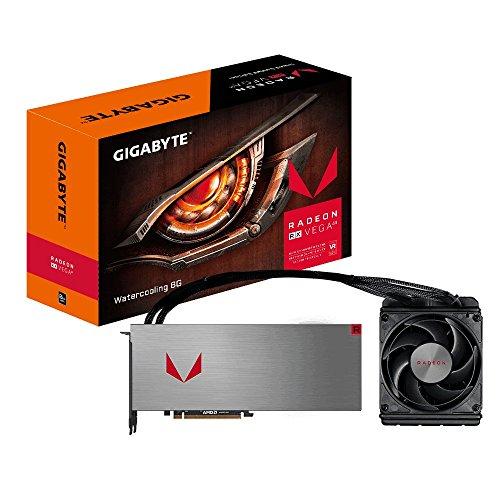 Gigabyte GV-RXVEGA64X W-8GD-B AMD Radeon RX VEGA 64 XTX Water-cooling 8G Graphic Cards