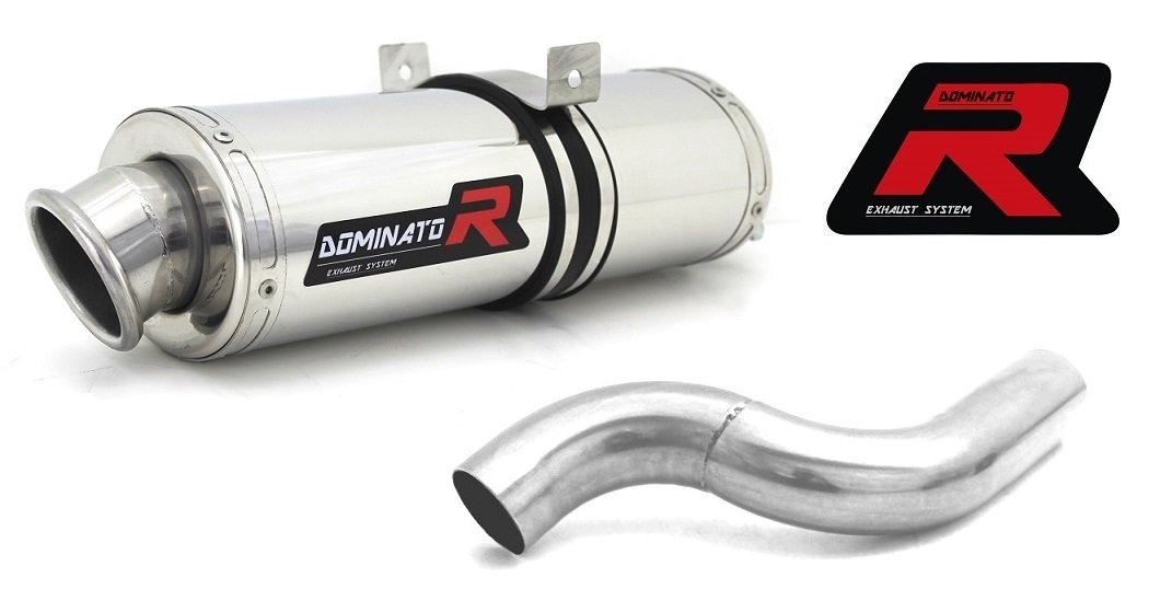 Dominator Exhaust KAWASAKI ZX6R 636 NINJA 05-06 + DB KILLER (OVAL)