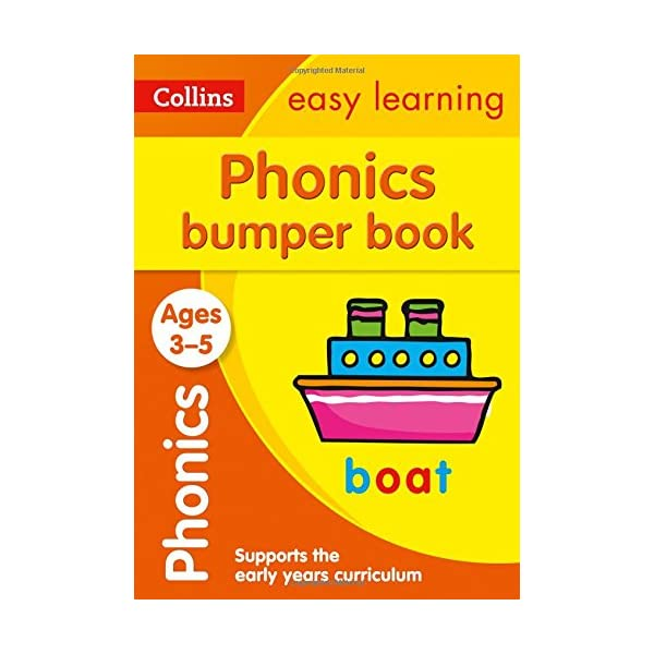 Phonics-Bumper-Book-Ages-3-5-Prepare-for-Preschool-with-easy-home-learning-Collins-Easy-Learning-Preschool-Paperback--22-Mar-2018
