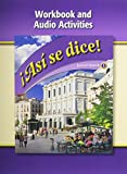 img - for Asi Se Dice, Level 1, Workbook and Audio Activities (Spanish Edition) book / textbook / text book