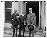 Vintography Reproduced 16 x 20 Photo of: A.D. Denison, Dwight W. Morrow, W.F. Durand spec. Aviation Board, 9/17/25 1925 National Photo Company
