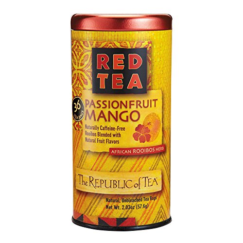 Mango Red Tea Tea - REPUBLIC OF TEA Red Capetown Harvest Tea, 36 CT