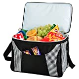 Picnic at Ascot Collapsible 36 Can Cooler –  Houndstooth/Black Review
