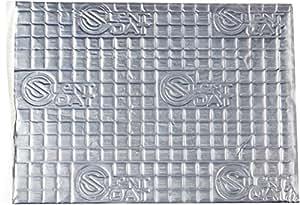 Silent Coat 2mm de grosor auto-adhesiva amortiguación de sonido con unidades, (8 unidades)