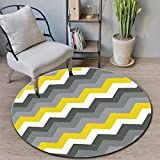 GHGMM Nordic Style, Simple And Modern, Round Living Room Mat, Coffee Table Mat, Bedside Carpet Mat, Hanging Basket, Computer Upholstery, Bathroom Mat, Stair Mat, Dot Plastic Anti-Slip Design,H,80Cm