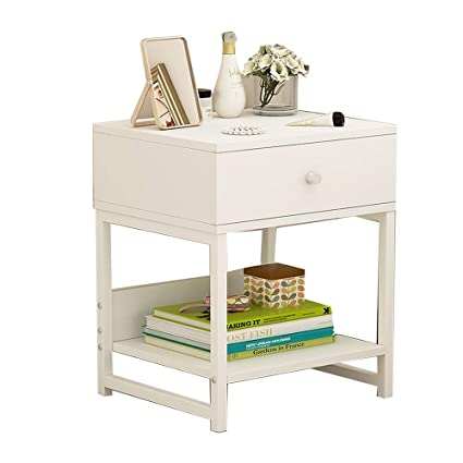 pretty nice 1dcf3 08696 Amazon.com: Folding desk 2 Tier Night Stand Table with ...
