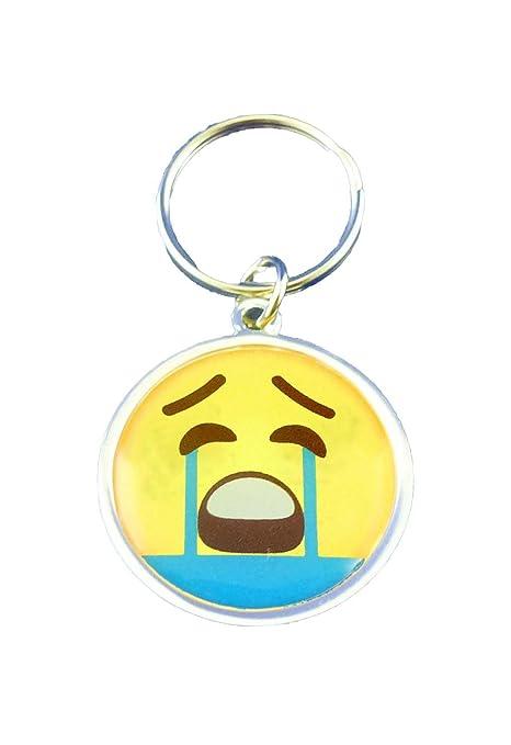 Emotives Emoji - Llavero, diseño de lluvia: Amazon.es: Hogar