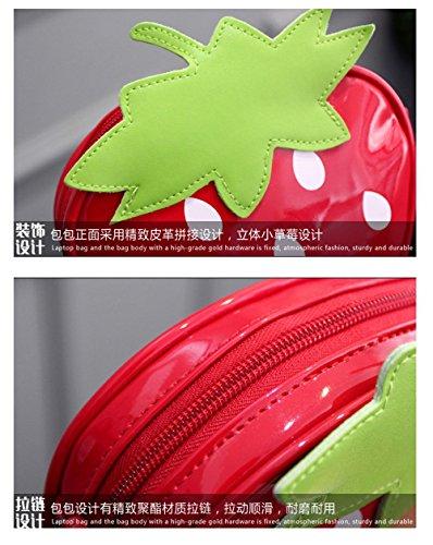 Shi xiaoshu, Borsa a secchiello donna rosso Red