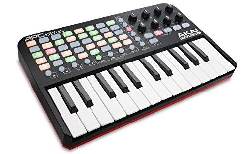 Akai Professional APC KEY 25 Ableton Live USB MIDI Keyboard Controller, Ableton Live Lite, Hybrid 3 by AIR Music Tech (SONiVOX Twist und Toolroom Artist Launch Packs)