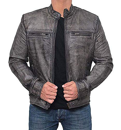 Decrum Biker Jacket B077KZRCJQ-MCF Men - Garcia XL