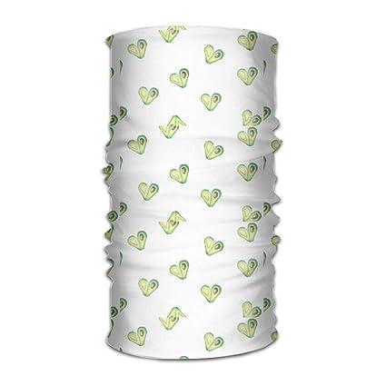 Shower Curtain Pillow Magic Headwear Avocado Love Outdoor Scarf Headbands Bandana Mask Neck Gaiter Head Wrap