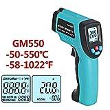 QIANLAI GM550-50~550 C Digital Infrared Thermometer Pyrometer Aquarium Laser Thermometer Outdoor Thermometer