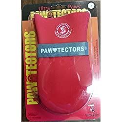 All Weather Pawtectors Ultra Paws Xs S M Lg Xl Waterproof Resistant Snow Boot - RED SMALL