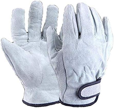 ガーデニング用手袋 手の保護手袋電気溶接の取り扱い手袋耐摩耗性肥厚園芸用手袋 園芸 採掘 植栽 枝切り 防護手袋