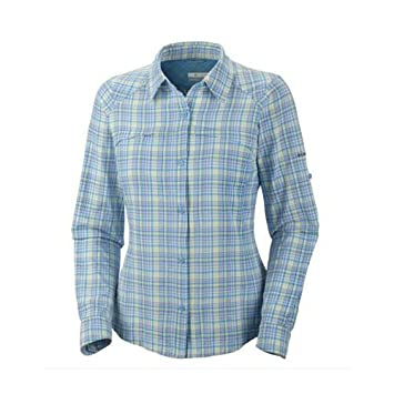 66148334d9b Columbia Women's Silver Ridge Plaid Long Sleeve Shirts, Bluebell  Traditional, Large: Amazon.co.uk: Sports & Outdoors