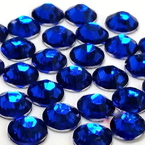 2mm, 3mm,4mm,5mm,6mm DIY Resin Round Flat Back Rhinestones Gems Brilliant 14-Cut Facets Flatback Includes Rhinestones Flat Back Samples from GreatDeal68 (4mm (900 pcs), Capri Blue)