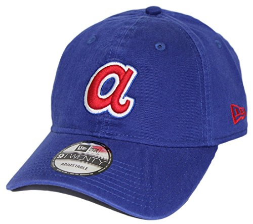 New Era Atlanta Braves MLB 9Twenty Cooperstown Adjustable Hat - Blue