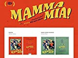 SF9 [MAMMA MIA!] 4th Mini Album CD+POSTER+Photobook+Cover+Ticketcard+Card+Tracking Number SEALED