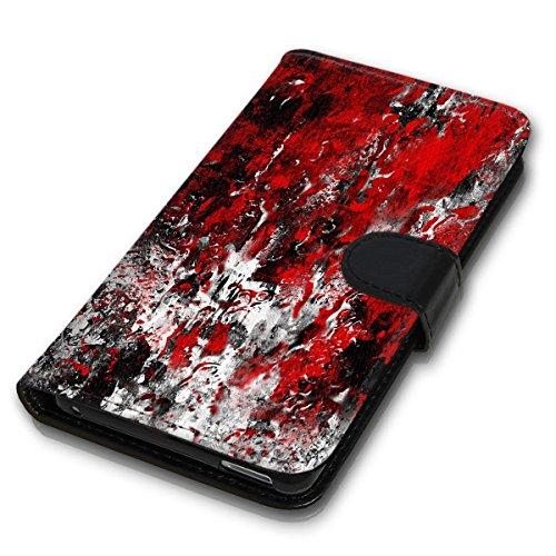Wallet Book Style Flip Handy Tasche Case Schutz Hülle Schale Motiv Etui für Apple iPhone 6 Plus / 6S Plus - Design Flip MVD42