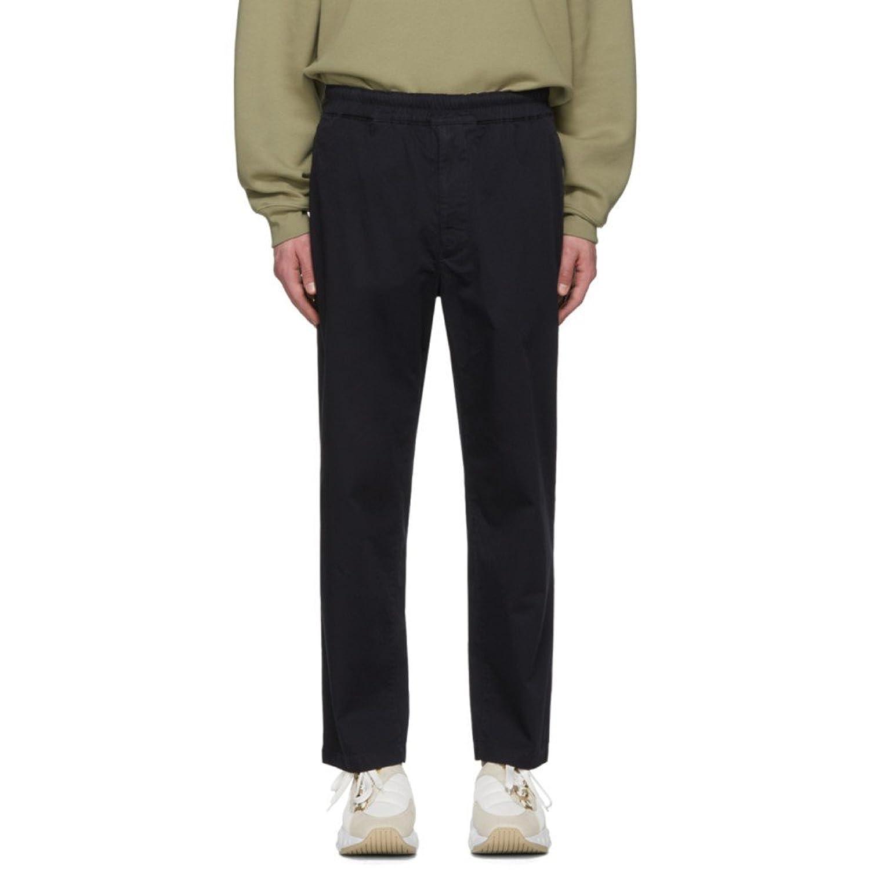 (アクネ ストゥディオズ) Acne Studios メンズ ボトムスパンツ Navy Avlin Trousers [並行輸入品] B07D15YDK8   IT52-US36