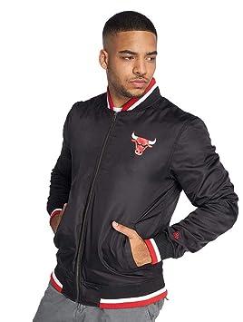 A NEW ERA NBA Team Varsity Chibul Blk Chaqueta, Hombre: Amazon.es: Deportes y aire libre