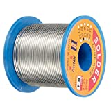 0.6mm 300g Flux Tin Lead 60/40 Rosin Core Solder Tin Lead Soldering Wire Reel Sets Solder Wire Tin Lead Soldering Wire Reel for Industry Electronics Devices Solder Parts 5pcs FAJIE