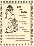 Reiki Affirmation Card - Just for Today (Reiki Learning Series)
