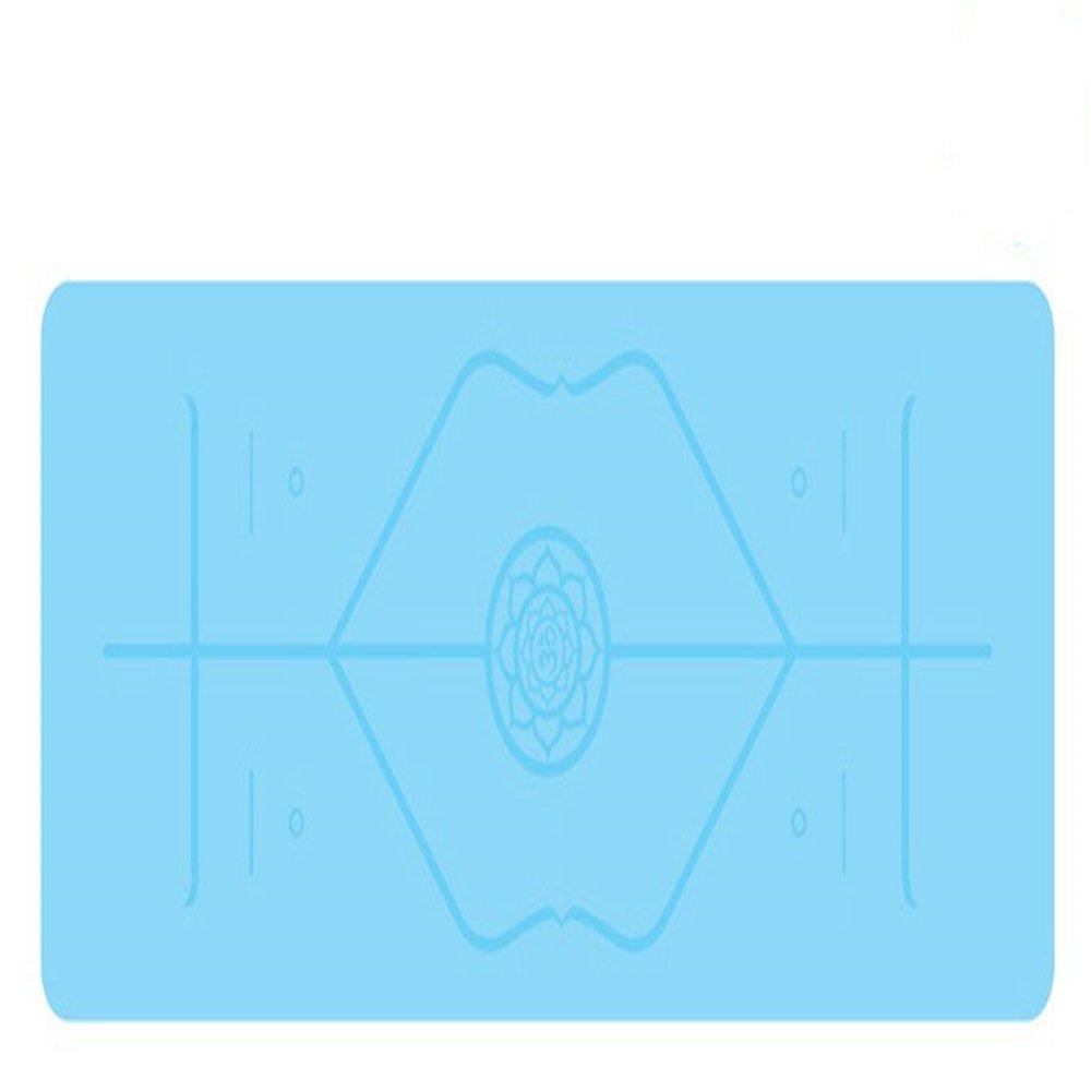 SLGJYY 183 Cm  66 Cm  5mm Naturkautschuk Mehr Länger Komfortable Esterilla Rutschfeste Position Linie Verlieren Gewicht Gymnastikmatte Fitness Yoga Mat