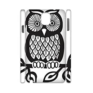 Personalized New Print Case for Samsung Galaxy Note 3 N9000 3D, Owl Phone Case - HL-713157