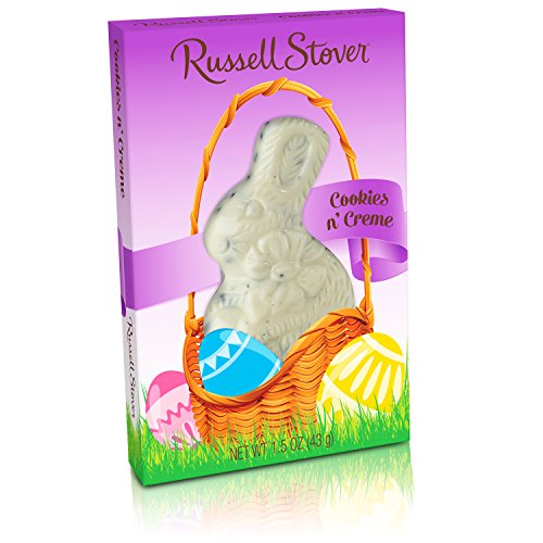- Russell Stover Cookies N Cream Chocolate Easter Rabbit, 1.5 oz.
