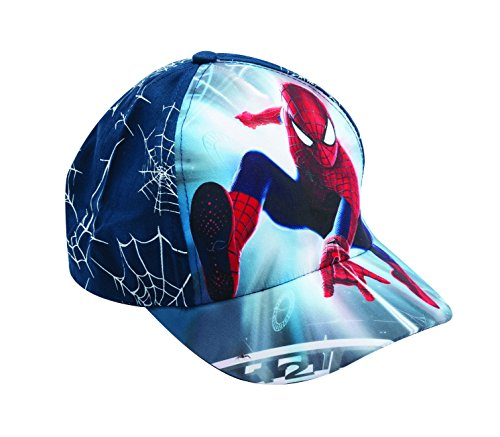 Official Licensed Spiderman Shooting Navy Blue Hat - Licensed Spiderman Marvel Comics Merchandise
