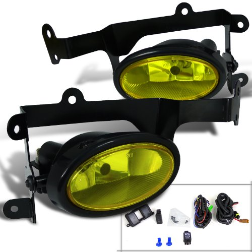Spec-D Tuning LF-CV062AMOEM-RS Honda Civic Dx Ex Lx 2Dr Coupe Fog Lights Amber